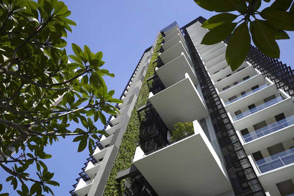 ADM Mixed Use Facade Articulation - بازسازی ساختمان