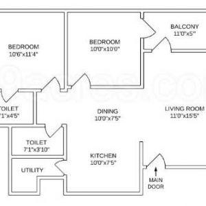 building drawing 1 300x300 - طراحی خانه ای شگفت انگیز در زمینی به مساحت ۲۰۰ متر