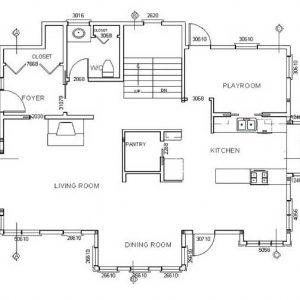 detailed plan 300x300 - طراحی خانه ای شگفت انگیز در زمینی به مساحت ۲۰۰ متر