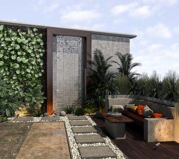 khosravi roof 2post Copy 360x320 - طراحی نما ، طراحی داخلی و طراحی روف گاردن فرمانیه