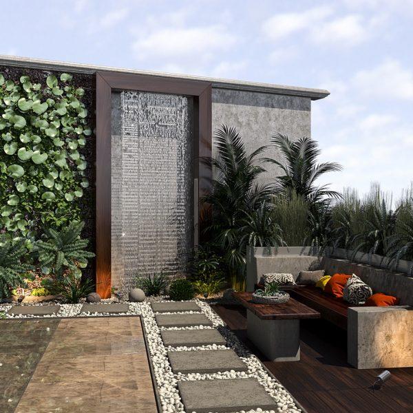khosravi roof 2post Copy 600x600 - طراحی نما ، طراحی داخلی و طراحی روف گاردن فرمانیه