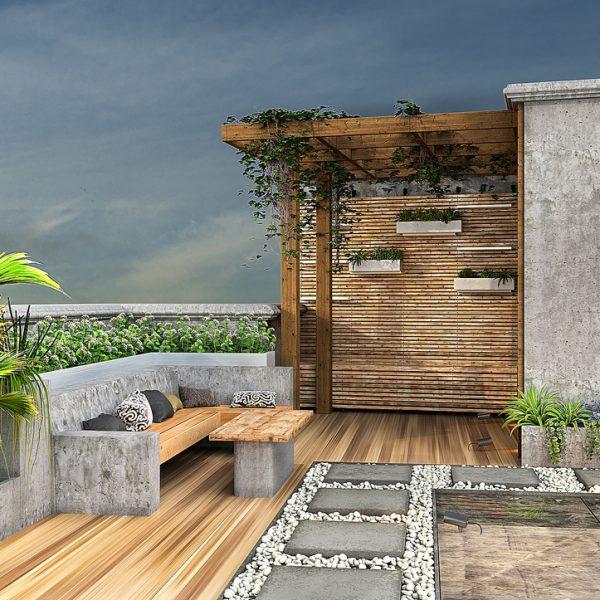 roof2 edit.post Copy 600x600 - طراحی نما ، طراحی داخلی و طراحی روف گاردن فرمانیه