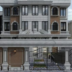 بازسازی واحد مسکونی خیابان فرشته2