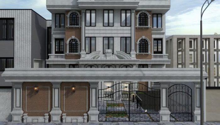 واحد مسکونی خیابان فرشته2 - بازسازی ساختمان