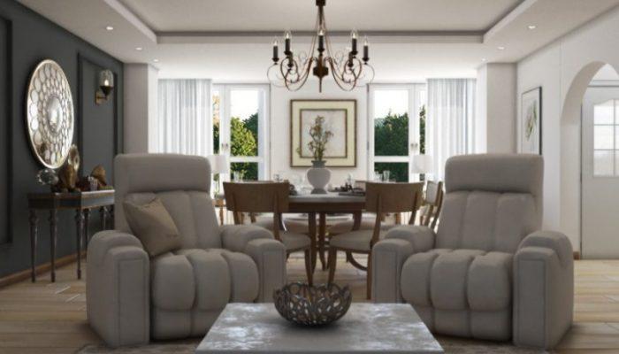 واحد مسکونی مهرشهر کرج1 - دکوراسیون منزل - ۵ ایده اصلی برای طراحی داخلی منزل