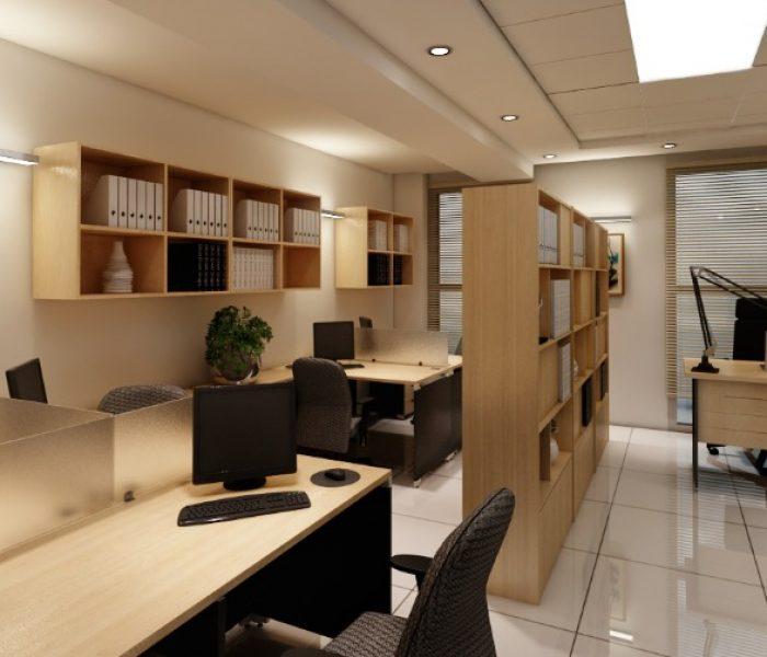 طراحی و اجرای واحد اداری طالقانی2