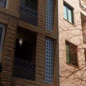 طراحی پلان و نمای ساختمان مسونی تهران پارس