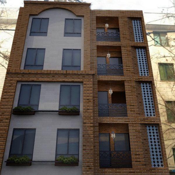 پلان و نمای ساختمان مسونی تهران پارس3 600x600 - طراحی نمای ساختمان