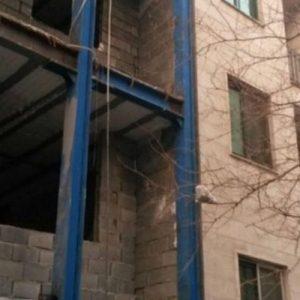 طراحی پلان و نمای ساختمان مسونی تهران پارس4