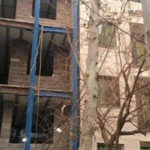 طراحی پلان و نمای ساختمان مسونی تهران پارس5