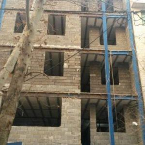 طراحی پلان و نمای ساختمان مسونی تهران پارس6