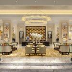 A versatile lobby 1 150x150 - طراحی داخلی و ایده های دکوراسیون مدرن هتل