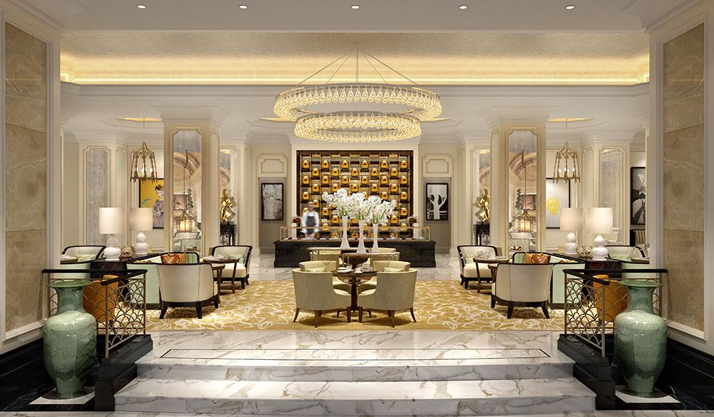 A versatile lobby - طراحی داخلی و ایده های دکوراسیون مدرن هتل