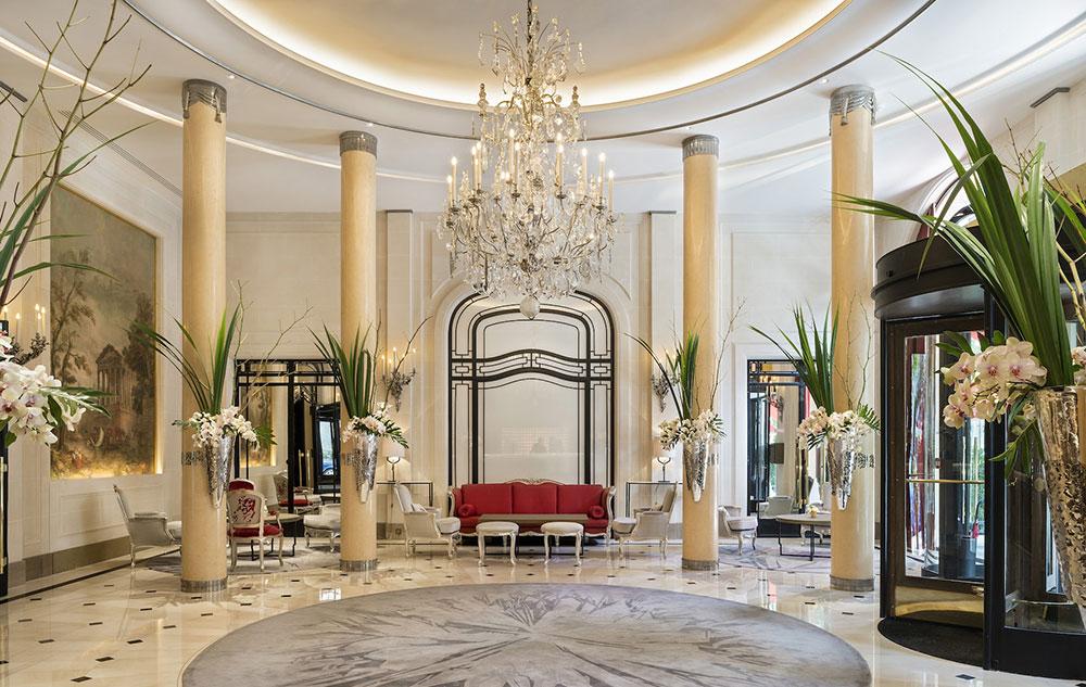 Doubling art lights - طراحی داخلی و ایده های دکوراسیون مدرن هتل