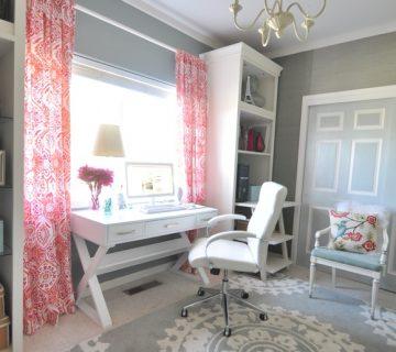 decorate with curtains the office room 1 360x320 - ۱۱ نکته در مورد تزئینات اداری برای افزایش بهرهوری شما