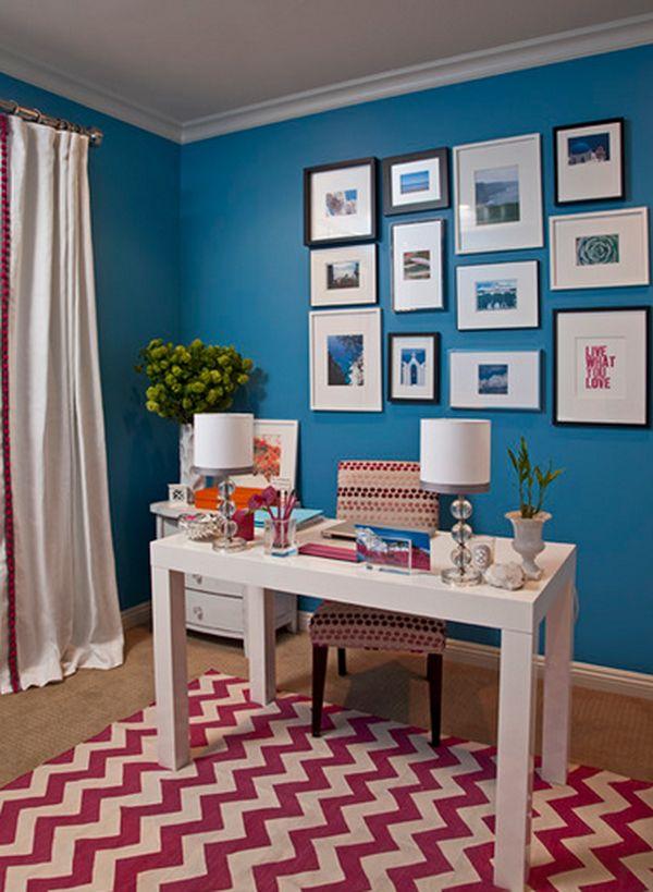 vibrant office color room office - ۱۱ نکته در مورد تزئینات اداری برای افزایش بهرهوری شما