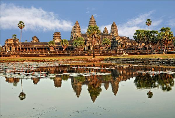 Angkor Wat - ۲۰ نمونه از معماری مشهور جهان