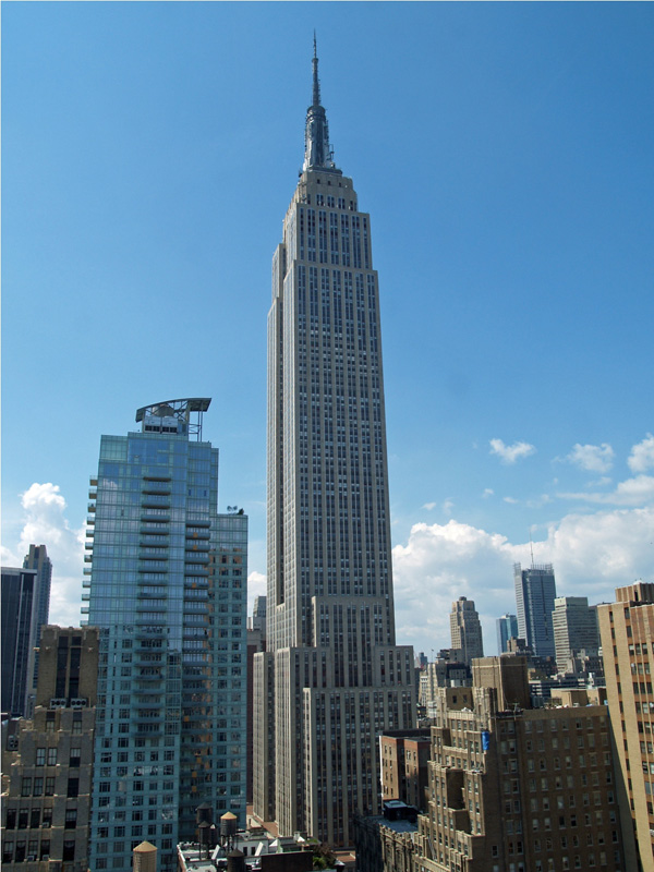 Empire State Building - ۲۰ نمونه از معماری مشهور جهان