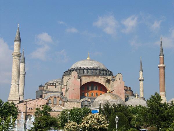 Hagia Sophia - ۲۰ نمونه از معماری مشهور جهان