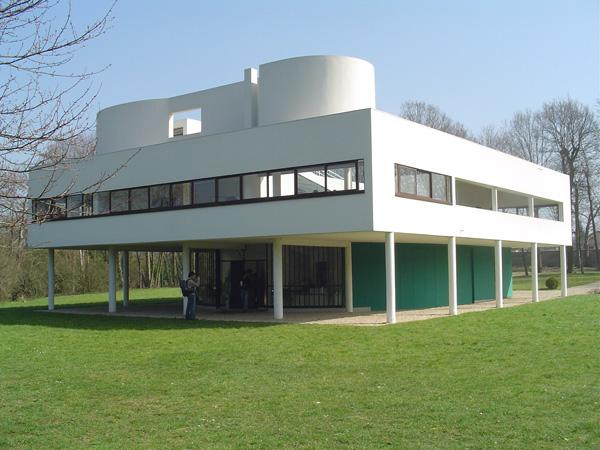 La Villa Savoye Le Corbusier - ۲۰ نمونه از معماری مشهور جهان