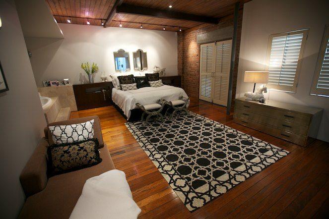 Open Plan Bedroom Decorate Design1 - محبوب ترین سبک های طراحی داخلی