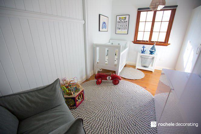 Rochele Decorating Nursery6 - ۱۰ نکته برتر در مورد دکوراسیون آپارتمان