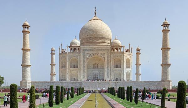 Taj Mahal - ۲۰ نمونه از معماری مشهور جهان