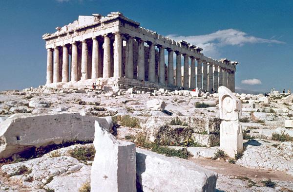 The Parthenon Athens - ۲۰ نمونه از معماری مشهور جهان