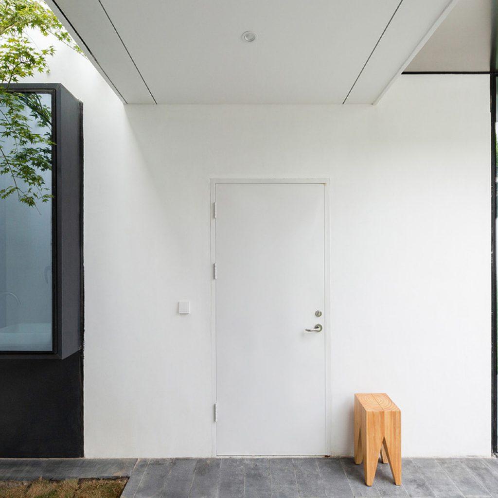 05 entrance foyer view copyright tianzhou yang 1024x1024 - عناصر معماری مدرن و سنتی نوسازی خانه