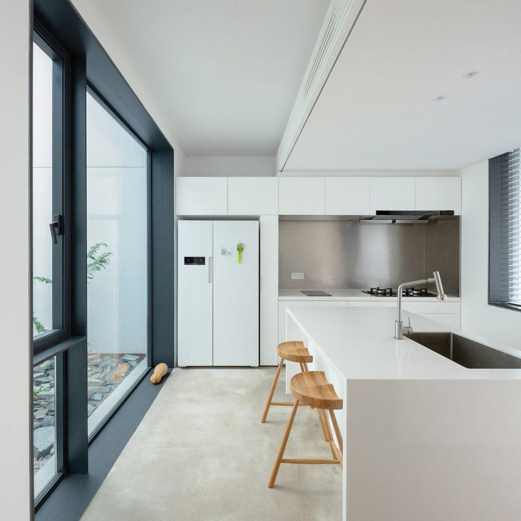 13 kitchen copyright tianzhou yang 1024x1024 - عناصر معماری مدرن و سنتی نوسازی خانه