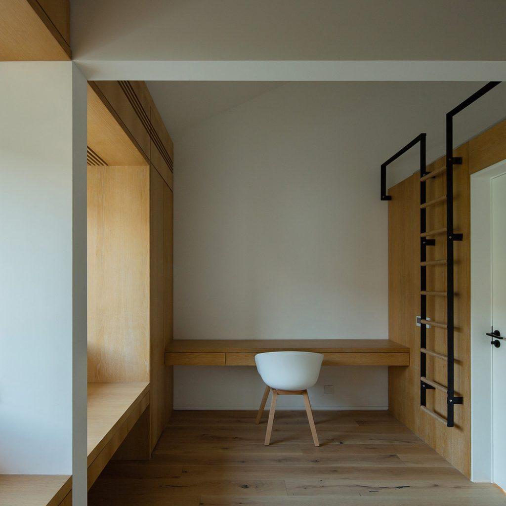 20 kids room on third floor copyright tianzhou yang 1024x1024 - عناصر معماری مدرن و سنتی نوسازی خانه