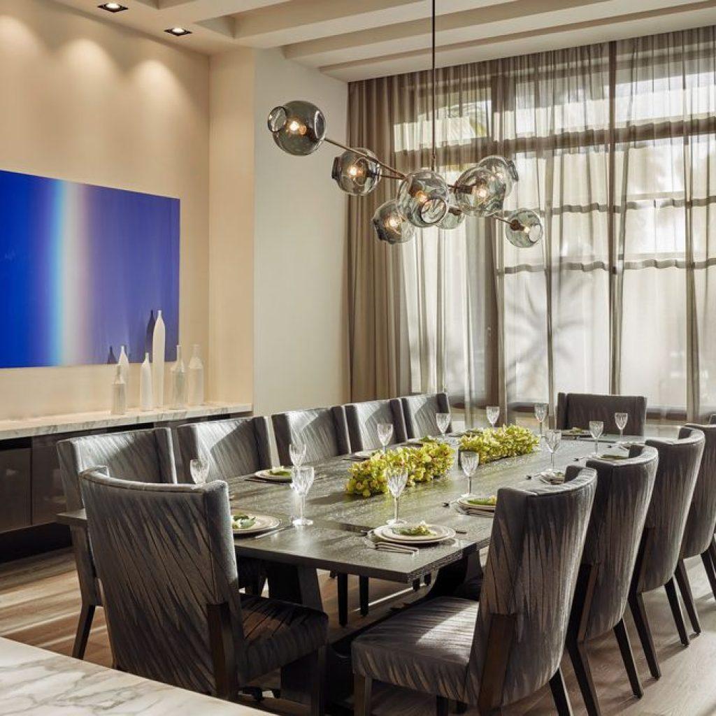 92103 b g design portfolio interiors dining 1582052190 1024x1024 - چگونی ارائه یک اتاق شام یا غذاخوری