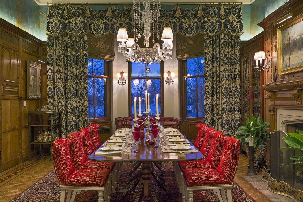 establish a focal point 1582052300 1 - چگونی ارائه یک اتاق شام یا غذاخوری