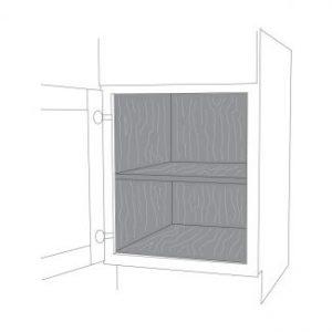 کردن داخلی کابینت 300x300 - 10 ویژگی برتر کابینت آشپزخانه با کیفیت بالا