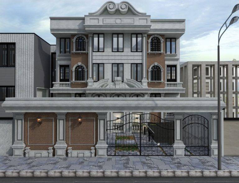 واحد مسکونی خیابان فرشته2 768x588 1 - بازسازی ساختمان