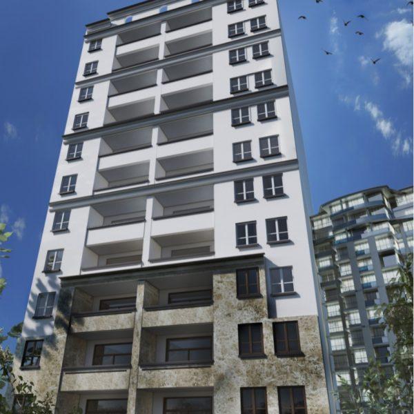 نمای برجهای مسونی پونک 600x600 1 - طراحی نمای ساختمان