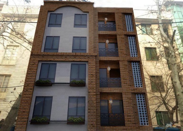 پلان و نمای ساختمان مسونی تهران پارس3 768x551 1 - بازسازی ساختمان