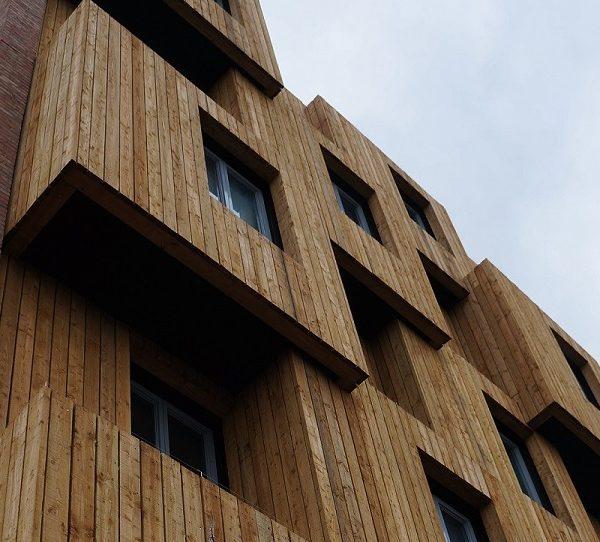 مدرن 600x542 - طراحی و ساخت یک نمای ساختمان با کلاس جهانی