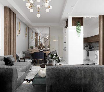 Dining room Copy 360x320 - طراحی ودیزاین داخلی آپارتمان سبک مدرن - تهرانپارس