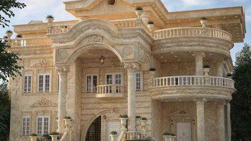 طراحی نمای ساختمان رومی