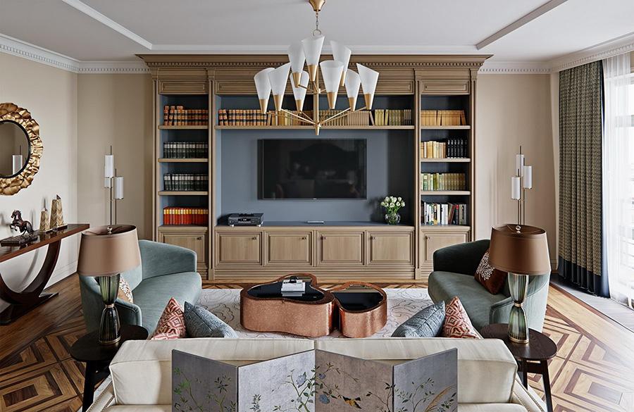 طراحی داخلی نئوکلاسیک