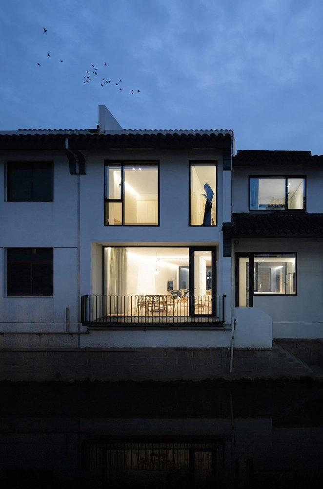عناصر معماری مدرن و سنتی نوسازی خانه