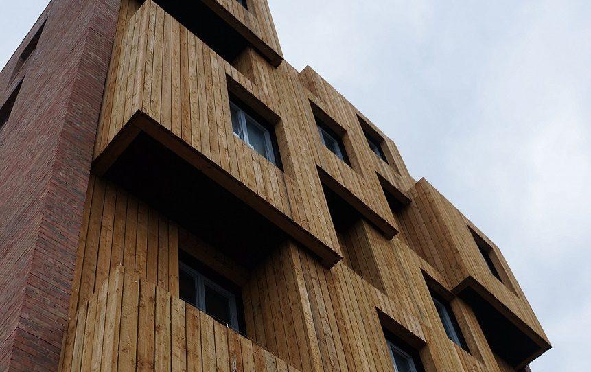 طراحی و ساخت یک نمای ساختمان با کلاس جهانی